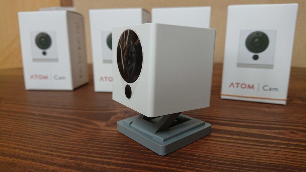スマートホームカメラATOM Cam